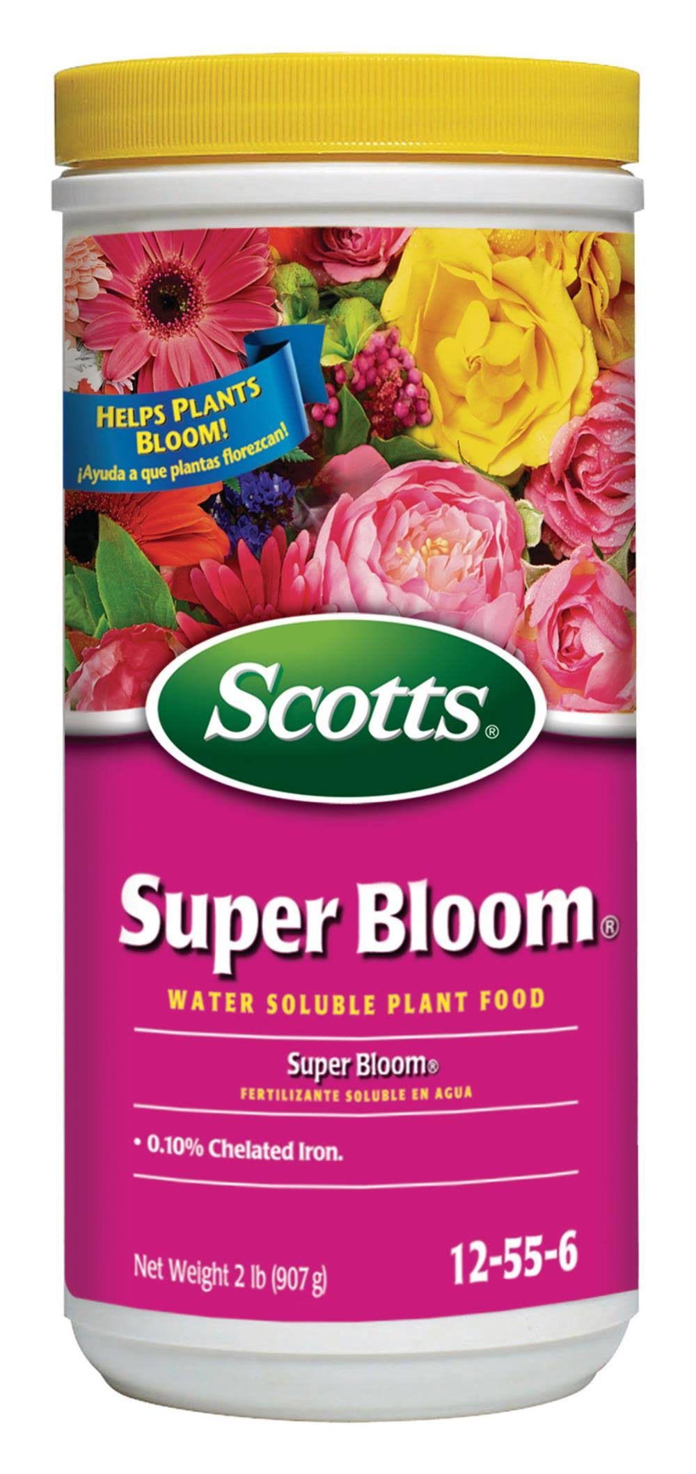 Scotts Water Soluble Super Bloom Plant Food - 2lbs