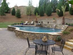 52 Best Pool Ideas Images On Pinterest   Pool Ideas, Raised Pools ... Best 25 Sloped Backyard Landscaping Ideas On Pinterest A Possibility For Our Landslide The Side Of House How To Landscape A Sloping Backyard Diy Design Ideas On Hill Izvipicom Around Deck Gray Trending Garden Quiet Corner Sixprit Decorps 845 Best Outdoor Images Living Landscaping Debra Kraft Aging In Place Garden Archives In Day Designs Uphill With Slope Step By Steps And Stairs Timbers