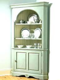 White Corner Cabinet For Dining Room
