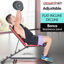 Adjustable Sit Up Ab Bench