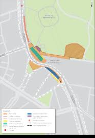100 Domain Road Traffic Changes Around Construction In The Precinct
