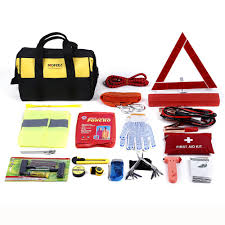 NoOne Roadside Assistance Auto Emergency Kit + First Aid Kit ... Roadside Assistance Auto Emergency Kit First Aid Inex Life How To Make A Winter For Your Car Building Or Truck Ordrive News And With Jumper Cables Air Hideaway Strobe Lights Automotives Blikzone 81 Pc Essentials Amazoncom Lifeline 4388aaa Aaa Excursion Road 76piece 121piece Compact Kit4406 The Home Depot Cartruck Survival 2017 60 Piece Set Deal Guy Live Be Ppared With Consumer Reports