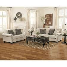 Milari Linen Living Room Set Signature Design By Ashley Furniture Prices