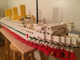 lego hmhs britannic model 5 foot model youtube