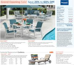 Fortunoff Patio Furniture Covers by Grand Opening Sale Florida Fortunoff Backyard Store