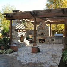 Patio Pizza Oven with Outdoor Dining Decoration ShopLvHome