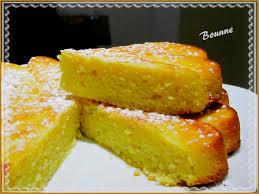 recette dessert avec yaourt gâteau au yaourt polenta et citron sucrée