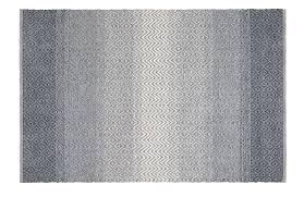 handwebteppich malta in grau ca 70x140cm