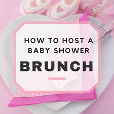 Baby Shower Brunch Ideas Sample Menu