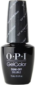 opi gelcolor liv in the gray uv led polish free shipping at