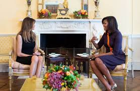 the symbolism of michelle obama u0027s and melania trump u0027s wardrobe