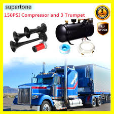 Buy Generic Air Horn 3 Trumpet With 150PSI 3L Compressor Tank For ... Universal Fourtrumpet Air Train Horn Kit For Cartruckboat Truck Kit Two Trumpet 110 Psi 12v Dc Compressor Pssure Pair Loud 2 Big Rig Semi Air Horns Viair 150psi Sale Hornblasters Train Horn Install Truckin Magazine 12v Chrome Dual Trumpet Compressor Car Boat Wolo Mfg Corp Air Horns Horn Accsories Comprresors Lumiparty 178db Super Fort Double Trompette Voiture Azir 135db With Two Trumpets And Unique Bargains Sliver Tone Metal Lond Sound 3trumpet 150db 24v Auto Four 4 Alloy Tone Of Texas