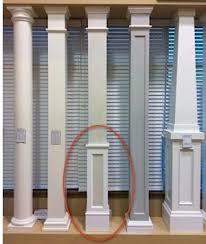 Square Columns PVC column Wraps