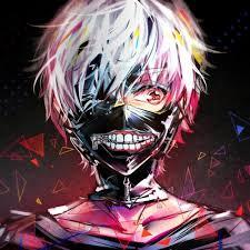 Funny Halloween Half Masks by Halloween Anime Dress Cosplay Tokyo Ghoul Kaneki Ken Mask Zipper