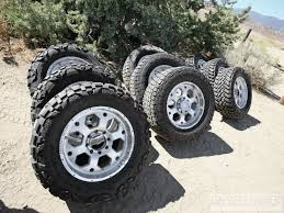 Tested: Street Vs. Trail Vs. Mud Tires Diesel Power Magazine ...