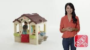 Step2 Happy Home Cottage U0026 by Step2 Charming Cottage Playhouse Youtube