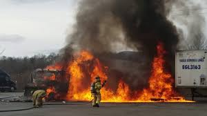 100 Truck Stop San Diego Stop Fire At Ironto Truck Stop YouTube