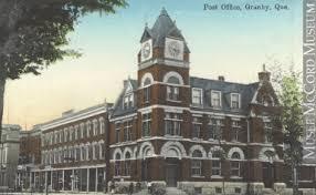 bureau de poste 11 mp 0000 1049 11 bureau de poste granby qc vers 1910