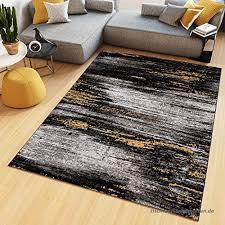 teppich kurzflor designer modern viereck streifen blumen