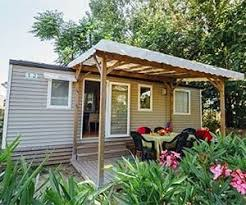 Mobile home rentals at Argeles campsite Camping les Pins
