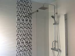 Geo Shower Panels by Mx Elements Low Profile Shower Tray With Lakes Shower Panel Roper