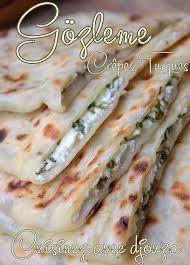 cuisine turc facile gözleme crêpes turques au fromage recettes faciles recettes