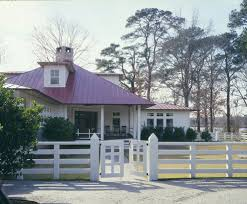 Rustic Ranch Fence Exterior Farmhouse With Wood Fencing Gate