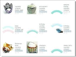 How To Make Cupcake Wrappers Template Wrapper Pdf Free
