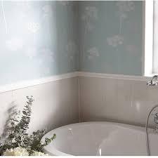 marbrex white wood tile effect pvc bathroom cladding shower wall