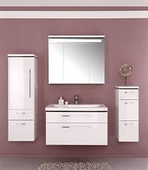 puris cool line badmöbel set waschtisch unterschrank