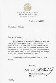 Letters & Acknowledgements