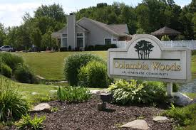 Columbia Woods off campus housing Akron OH