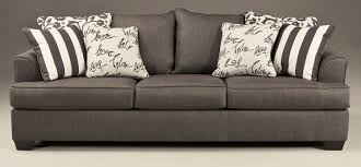 buy ashley furniture 7340339 levon charcoal queen sofa sleeper