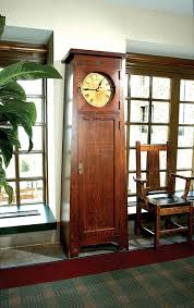 Roycroft Tall clock This clock sits in the Grove Park Inn in