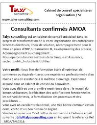 lettre de motivation cabinet de conseil talys consulting talysconsulting