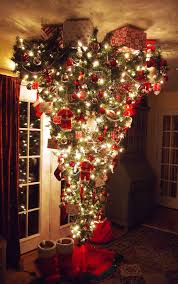 Christmas Tree Hanging Decorations Unique Ideas Upside Down Trees Reinventing Space Saving