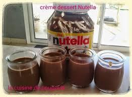 cuisine thermomix crème dessert au nutella au thermomix la cuisine de poupoule