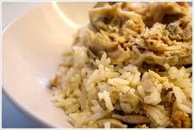 cuisiner des restes de poulet poulet au riz recette anti gaspi finir les restes gourmandiseries