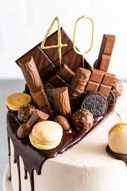 drip cake rezept für eine torte voller süßigkeiten mann