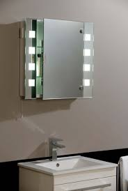 bathroom mirror cabinet with lights india and shaver socket light