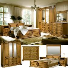 verdi schlafzimmer komplett set im landhausstil massivholz rustikale eiche
