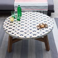 wonderful mosaic tile outdoor coffee table 10 easy pieces tile
