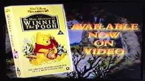 Sesame Street A Magical Halloween Adventure Vhs by Original Vhs Opening Winnie The Pooh U0027s Most Grand