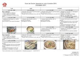 cours de cuisine 78 cours cuisine japonaise coin de la maison