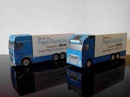 100 Paper Truck Make A Papercraft Truck With Your Logo On It By Trucklogo