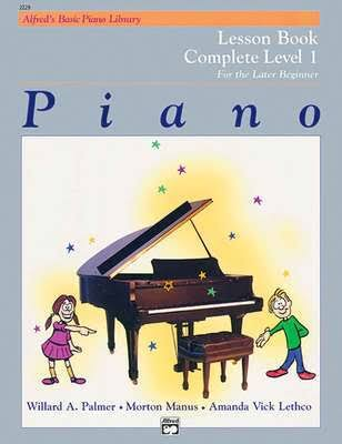 Piano Lesson Book: Complete Level 1 - Alfred Publishing