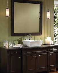 Chandelier Over Bathroom Sink by Bathrooms Design Bathroom Pendant Lights For Vanity Lighting