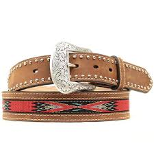 nocona handwoven aztec belt for men save 56