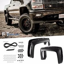 100 Chevy Silverado Truck Parts TEXTURED 20142016 CHEVY SILVERADO 1500 68 Bed Pocket Riveted