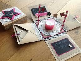 birthday cake Explosion box Cricut Explosion Box